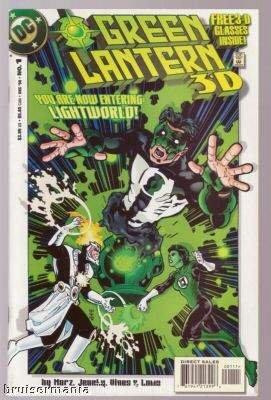 Green Lantern 3-D #1 DC Comics Dec. 1998 FN