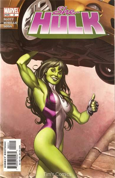 She-Hulk (2004 series) #2 Marvel Comics June 2004 VG/FN