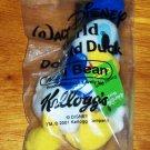 Kellogg's Walt Disney World Donald Duck Mini Bean Plush Toy Still in Original Packaging