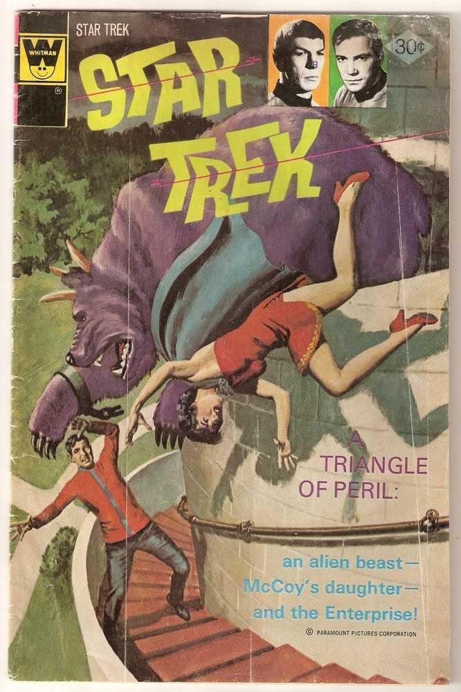Star Trek (1967 Whitman) #40 Sept. 1976 GD/VG