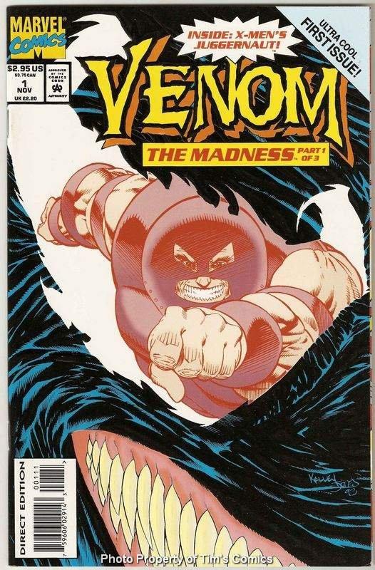 Venom the Madness #1 Marvel Comics Nov 1993 VG
