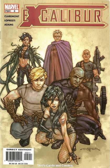 Excalibur (2004 series) #5 Marvel Comics Nov. 2004 FN