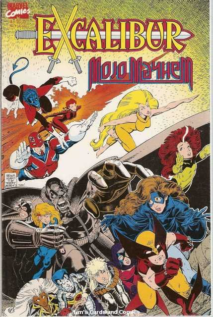 Excalibur Mojo Mayhem #1 Marvel Comics Dec. 1989 VG