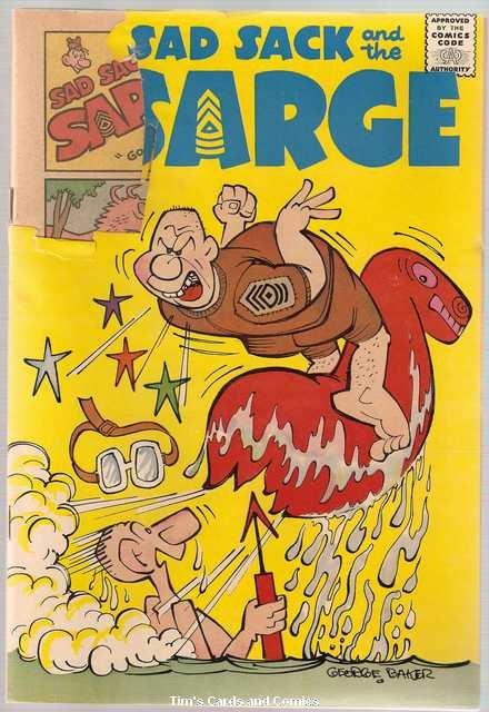 Sad Sack and the Sarge #21 Harvey Comics Oct. 1960 FR