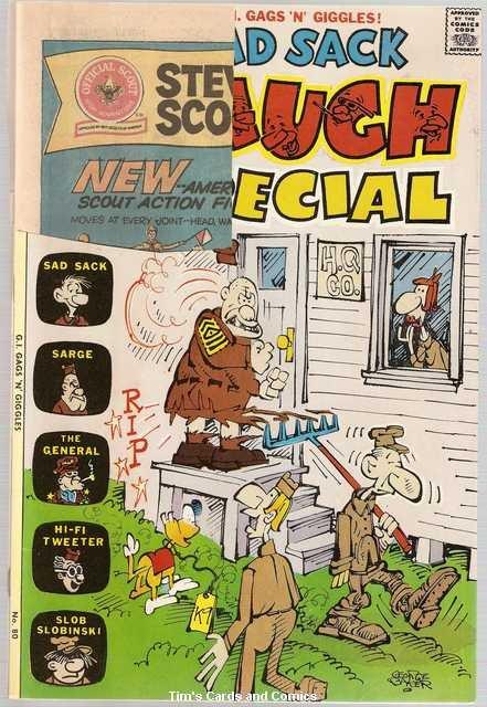 Sad Sack Laugh Special #80 Harvey Comics Nov. 1974 FR