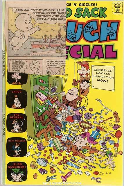 Sad Sack Laugh Special #87 Harvey Comics Feb. 1976 FR