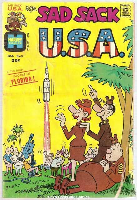 Sad Sack U.S.A. #3 Harvey Comics March 1973 FR/GD
