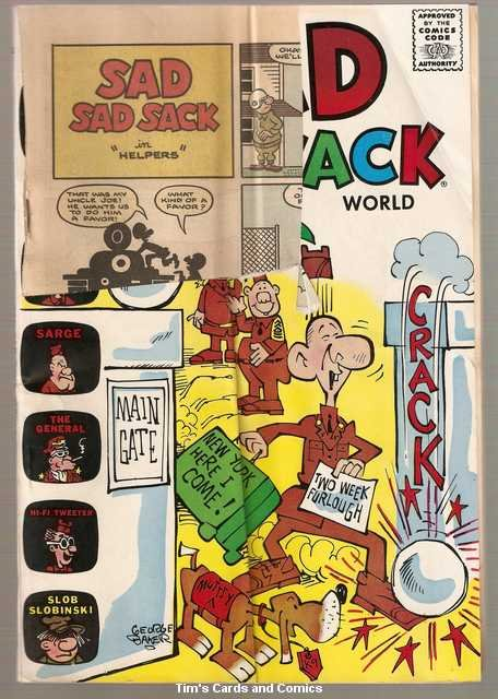 Sad Sad Sack World #2 Harvey Comics Jan. 1965 FR