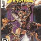 Samuree (1987 series) #8 Continuity Comics Nov 1990 FN/VF