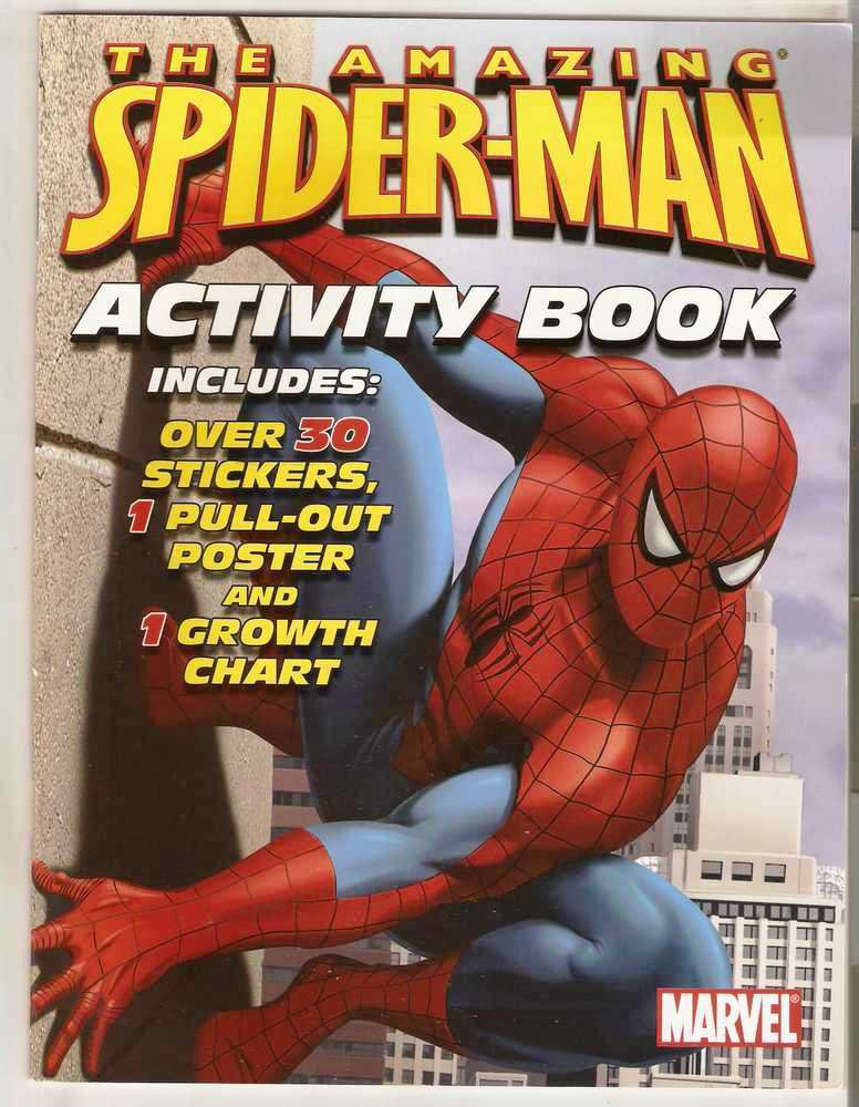 Amazing Spider-Man Activity Book Marvel Comics Bendon 2006