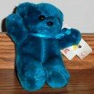"Ace Novelty Plush Parade 6"" Blue Bear"