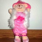 This Little Piggy Inc. Lady Bear Wearing Pink Dress and Hat