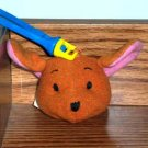 McDonald's 1999 Winnie the Pooh Roo Soft Toy with Backpack Clip Happy Meal Toy Loose Used