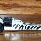Hot Wheels Zebra Dragster Loose