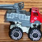 Express Wheels 4 x 4 Fire Engine Monster Truck Loose Used