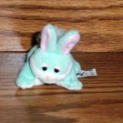 Pound Bunnies Light Green Bunny Stuffed Animal Toy Puppies
