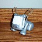 Hasbro I-Dog Pup Silver Electronic Plastic Toy Used