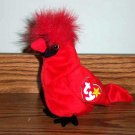 Ty  Beanie Babies Mac the Cardinal EX with Tag