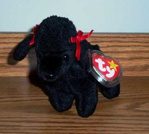 Ty Beanie Babies Gigi the Poodle Dog with Tag a0632a4a7dcf