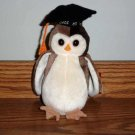 Ty  Beanie Babies Wiser the Owl with Tag