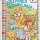 Arthur's Reading Race by Marc Tolon Brown Beginner Books Hardcover Book