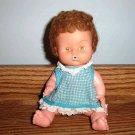 """Vintage 1968 Uneeda 8"""" Baby Doll Plastic"""