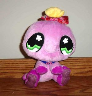 4fb19dbf63059 Littlest Pet Shop Purple or Pink Spider Plush Hasbro 10