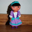 Fisher-Price Dora's Storybook Adventures Rapunzel Doll 2005 Used