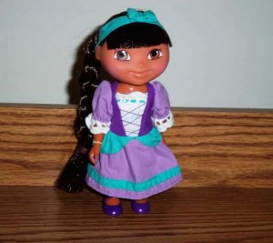 f68a7704785a9 Fisher-Price Dora's Storybook Adventures Rapunzel Doll 2005 Used