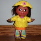 Fisher-Price G7177 Rainy Day Dora Doll 2004 Loose Used