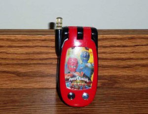 Power Rangers Jungle Fury Cell Phone Toy Loose Used