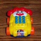 McDonald's Fisher-Price Ronald McDonald Phone 2003 Under 3 Happy Meal Toy U3 Loose