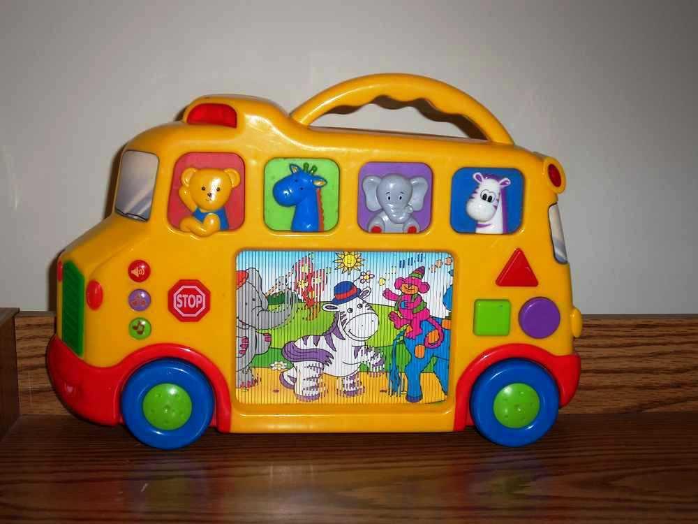Kiddieland Musical Animal Bus Loose Used