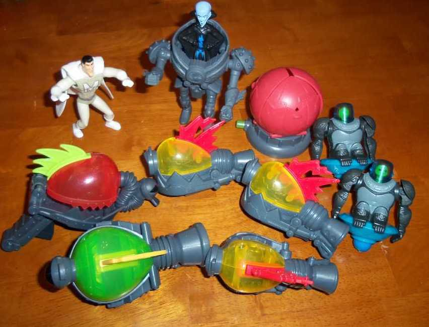 McDonalds Megamind Happy Meal Toys Lot of 22 Loose Used
