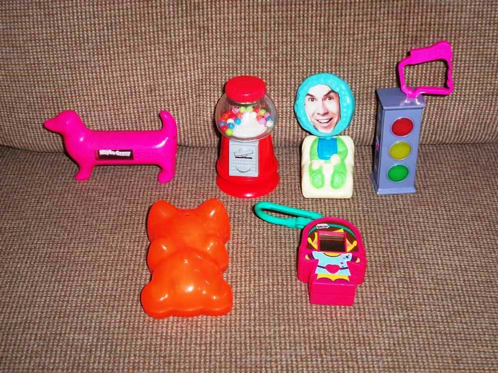 Mcdonald S Icarly Happy Meal Toys Lot Loose Used