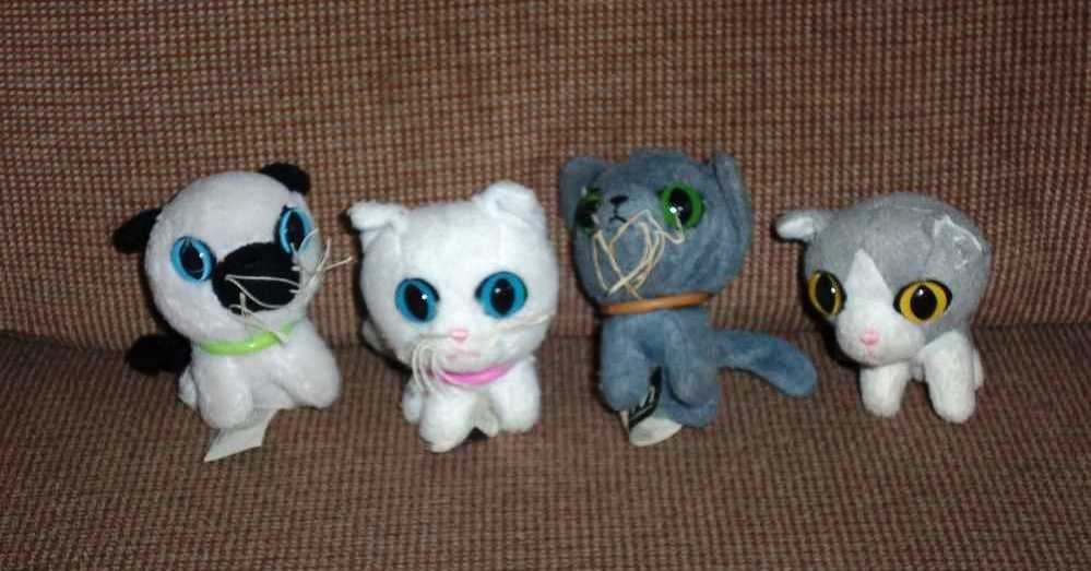 Mcdonald S 2005 The Cat Collection Happy Meal Toy Lot