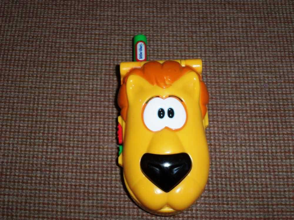 Little Tikes Animal Sounds Play Phone Lion Loose Used