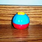 Playskool Busy Balls Terrific Textures Blue and Red Pop-Up Ball Loose Used