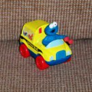 Fisher Price Sesame Street Die-Cast Vehicles Cookie Monster's School Bus 2005 Loose Used