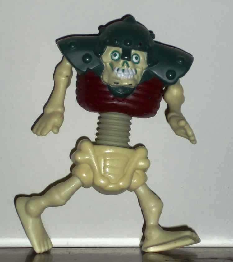 McDonald's 2003 Stretch Screamers Skeleton Man Happy Meal Toy Loose Used