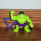 Burger King 2009 Marvel Super Hero Squad Gamma Glow Hulk Kids' Meal Toy Marvel Loose Used