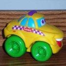 Playskool Wheel Pals Yellow Taxi Cab Car Loose Used