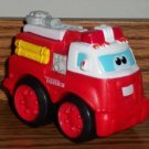 Playskool Tonka Boomer Chuck and Friends Wheel Pals Red Fire Truck Loose Used