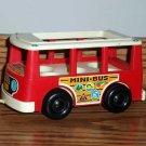 Fisher-Price Vintage Little People Mini-Bus FP-141 1969 Loose Used