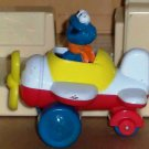 Sesame Street Tyco Matchbox Cookie Monster in Airplane Loose Used