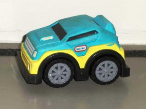 Little Tikes Soft Top Car with Sounds Planet Toys 2005 Loose Used