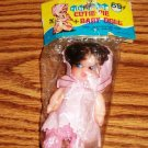 Vintage Tiny Tots Cutie Pie Baby Doll Still in Original Package Used