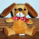 Megatoys Dog with Bow Tie Toy Loose Used