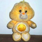 "Care Bears Funshine Bear 13"" Kenner 1983 Used"