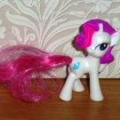McDonald's 2011 My Little Pony Rarity Happy Meal Toy Hasbro Loose Used